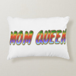 MOM QEEN ACCENT PILLOW