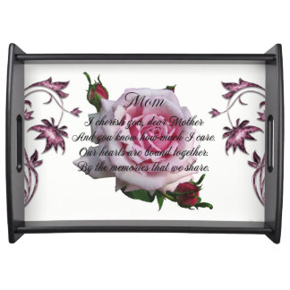 MOM QUOTE-2 SERVING TRAY