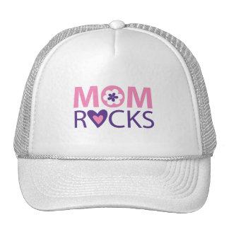Mom Rocks Mesh Hat