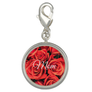 Mom Roses Charm