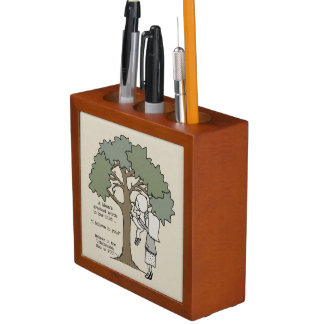 Mom's Greatest Words Desk Organizer