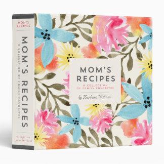 Mom s Recipe Binder - Paradise Floral