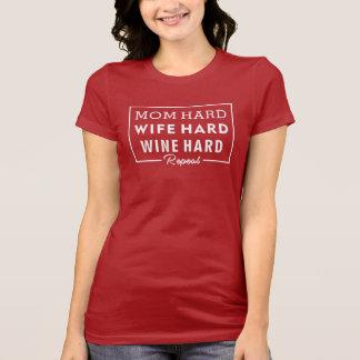 Mom Shirt - Wine Lover Mom