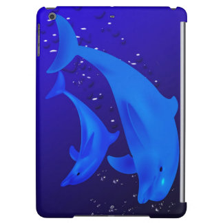 Mom & son dolphins case for iPad air