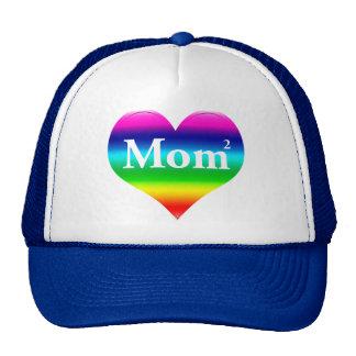 Mom Squared LGBT Trucker Hat