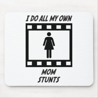 Mom Stunts Mouse Pads