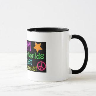mom super hero mug