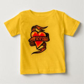 mom tattoo baby T-Shirt