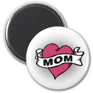 Mom Tattoo Refrigerator Magnets