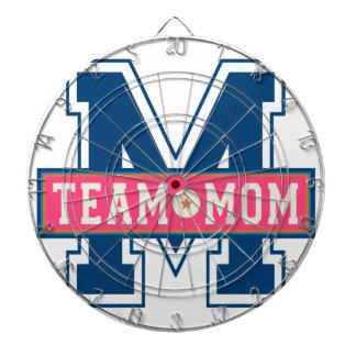 Mom team cool kid design dartboard
