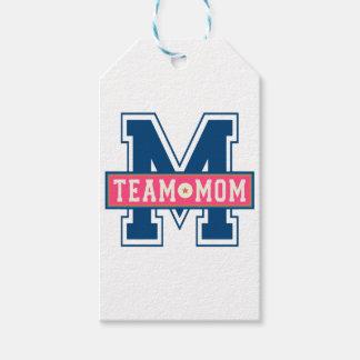 Mom team cool kid design gift tags