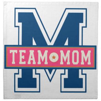Mom team cool kid design napkin