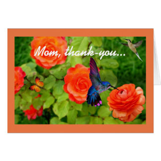 Mom, Thank-You Card