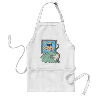 Mom To Be Baby Boy Maternity Standard Apron