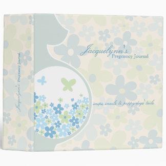 Mom To Be * Baby Boy Pregnancy Journal Binder
