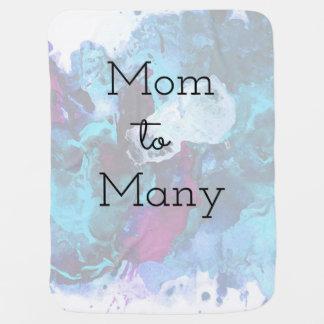 Mom To Many Baby Blanket