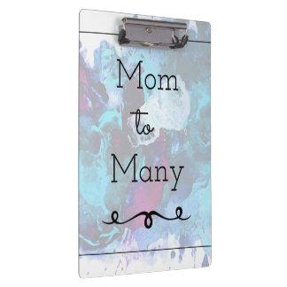 Mom To Many Clipboard