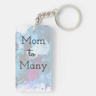 Mom To Many Keychain