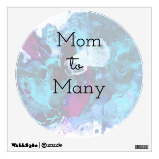 Mom To Many Wall Decal