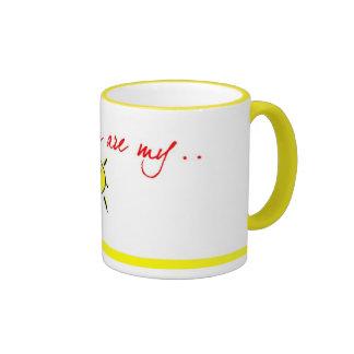 Mom u are my sunshine coffee mug