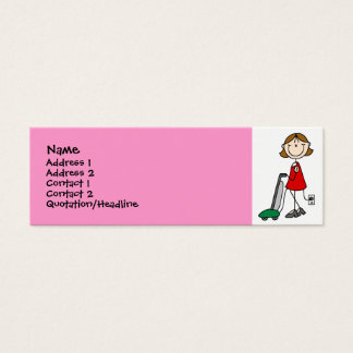 Mom Vacumming Profile Cards