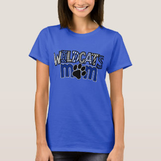 MOM Wildcats Paw Royal SS Tee