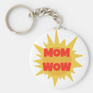 Mom Wow Keychain