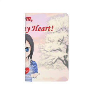 Mom, You are my Heart (Customizable) Journals