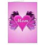 Mom Your An Angel Card