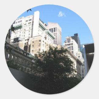 MoMA - NYC Round Sticker