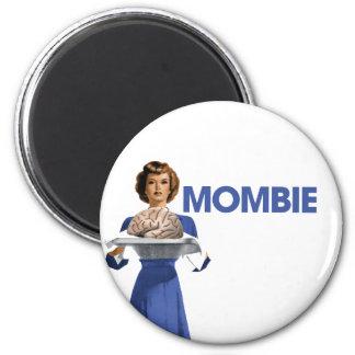 Mombie 2 Inch Round Magnet