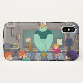 Mombou's First day of School iPhone X Case