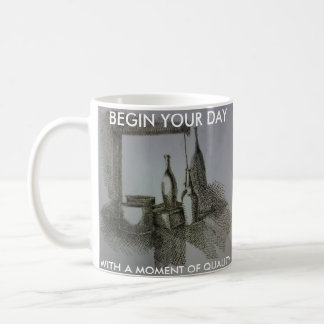 Moment of quality coffee mug