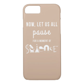 Moment of Science Beige iPhone 7 Case