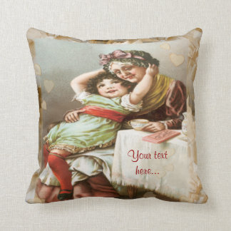 Moments with Grandma Throw Pillow