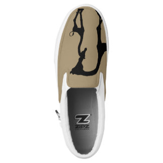 Momma and Baby African Giraffe Slip On Sneaker