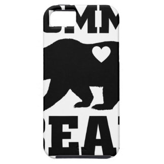 Momma Bear Best Gift Quote for mom shirt Case For The iPhone 5