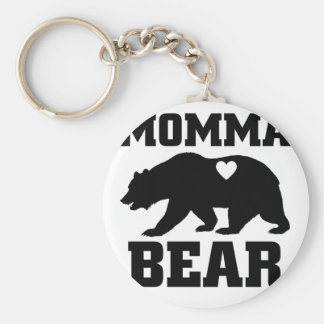 Momma Bear Best Gift Quote for mom shirt Keychain