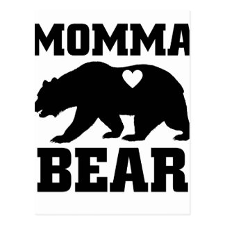 Momma Bear Best Gift Quote for mom shirt Postcard