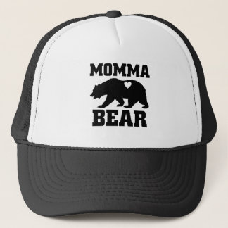 Momma Bear Best Gift Quote for mom shirt Trucker Hat