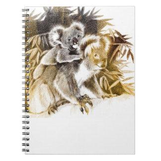 Momma Koala Small Notebook
