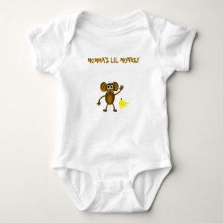 Momma's Lil Monkey Baby Bodysuit