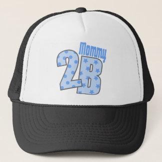 Mommy 2 B (Blue) Trucker Hat