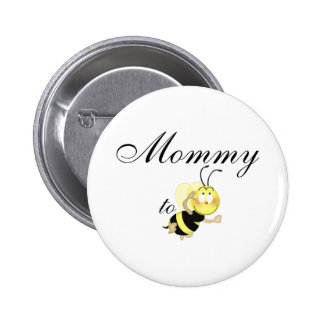 Mommy 2 be 2 inch round button
