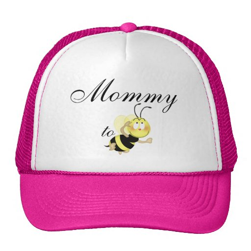 Mommy 2 be mesh hats