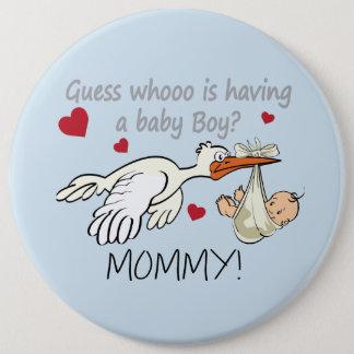 Mommy 6 Inch Round Button