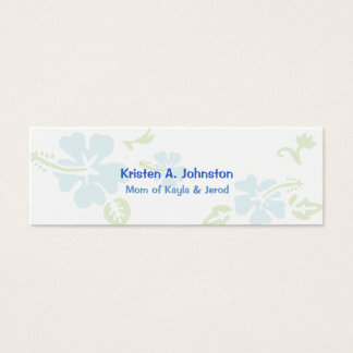 Mommy card, personal calling card