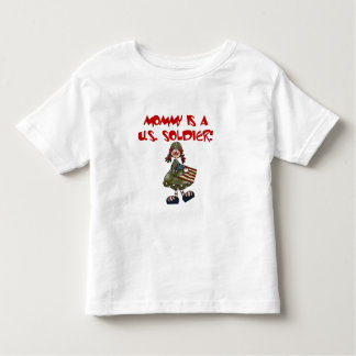Mommy is a US  Soldier Tshirt