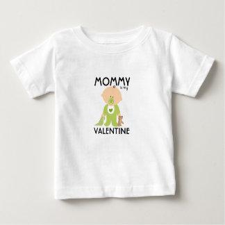 Mommy Is My Valentine Date Kids Tshirt