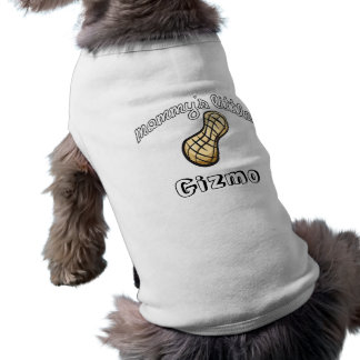 Mommy Little Peanut - Pet Name Dog T Shirt